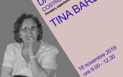 In ricordo di Tina Barbieri a un anno dalla morte