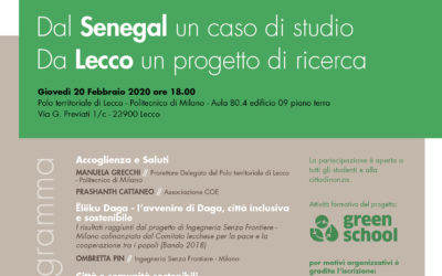 Conferenza Sustainable Development Goals