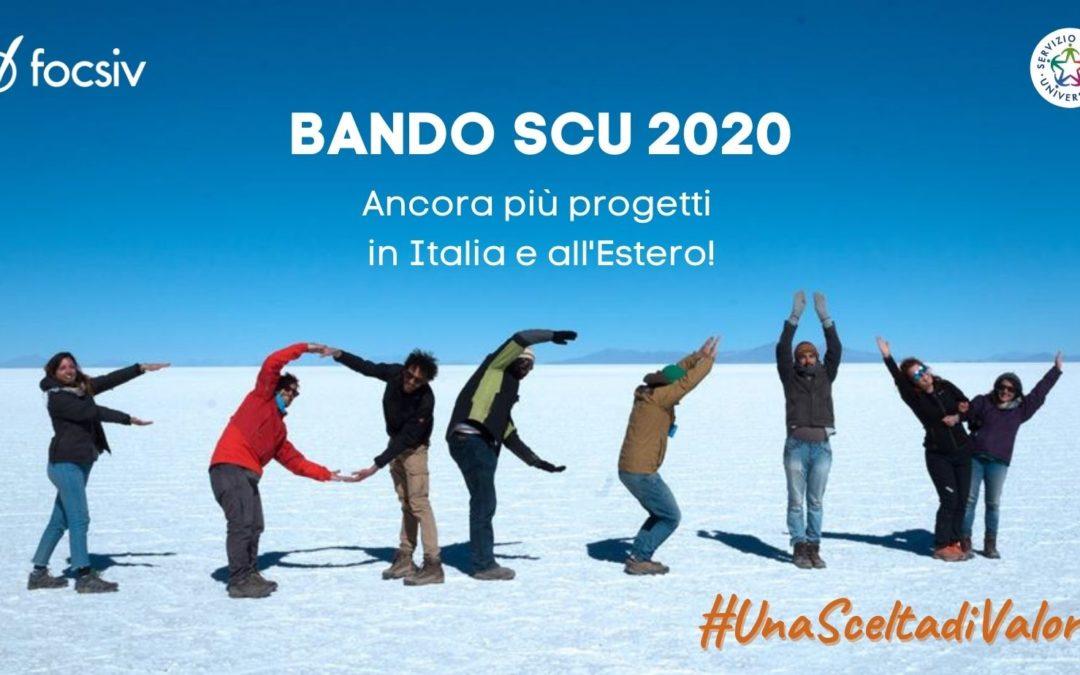 Servizio Civile Universale 2021/22 (Bando 2020)